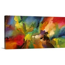 'Cosmic Voyage 187' Painting Print on Wrapped Canvas