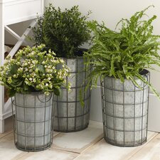 Hartman Metal Floor Vases (Set of 3)
