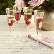 Aveline Champagne Flutes (Set of 4)