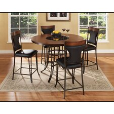 Dynasty 5 Piece Counter Height Dining Set