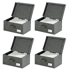 Liberta Fabric Storage Box (Set of 4)