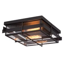 Muller 2-Light Flush Mount