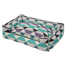 Origami Bolster Pet Bed