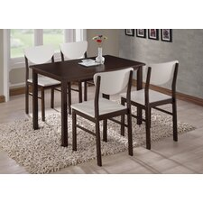 Alesha Wood Leg Dining Table