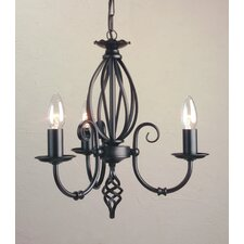 Artisan 3 Light Candle Chandelier