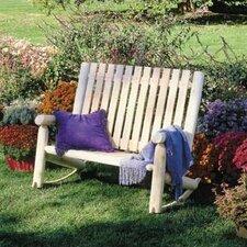 Indoor / Outdoor Cedar Double Rocking Chair