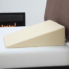 Natural Pedic Memory Foam Wedge Pillow with Cover