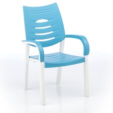 Happy Stacking Dining Arm Chair (Set of 4)