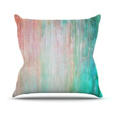 Color Wash by Iris Lehnhardt Throw Pillow