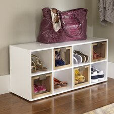8-Compartment Shoe Rack