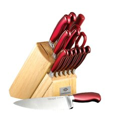 Signature 14 Piece Argentum Knife Block Set