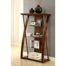 "Super Z 60"" Accent Shelves Bookcase"