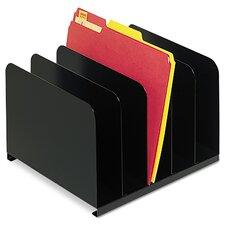 Steelmaster Desktop Vertical Organizer, Five Sections