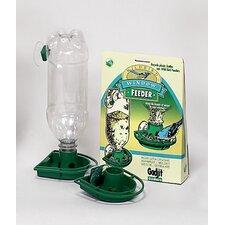 2-Pack Window Soda Bottle Hummingbird Feeder