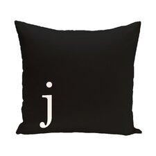 Augustus Monogram Throw Pillow