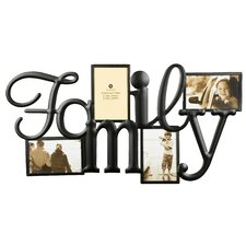 quick view family collage picture frame