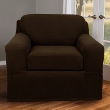 Pixel Stretch 2 Piece Chair Box Cushion Slipcover  by Maytex