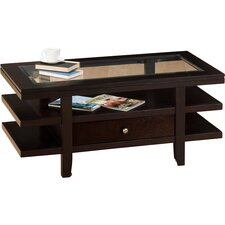 Mobile Double Header  Coffee Table