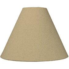 """Classics Brass 11"""" Linen Empire Lamp Shade"""
