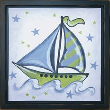 Boat Deco Framed Art