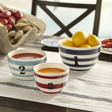 Starboard Melamine Prep Bowls (Set of 3)
