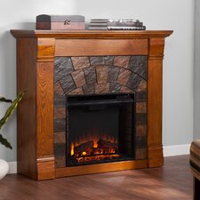 "Blake 46"" TV Stand with Electric Fireplace"