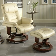 Balgarri Recliner and Footstool