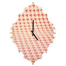 The Light Fantastic Houndstooth Polaroid Wall Clock