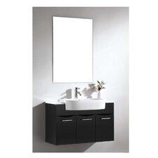 Brizendine Modern & Contemporary Frameless Mirror