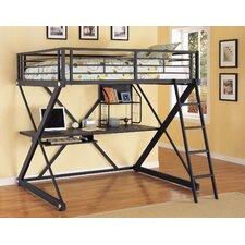 Z Bedroom Full over Full Loft Bed