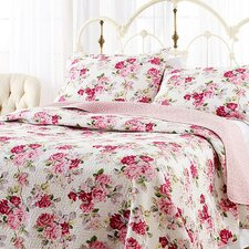 Laura Ashley Lidia Reversible Quilt Set by Laura Ashley Home