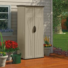 2.4 ft. W x 2.1 ft. D Plastic Vertical Tool Shed