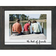 The Best Of Friends Float Picture Frame