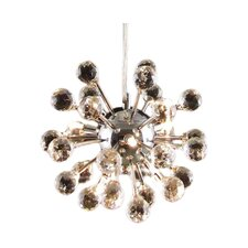 Modern 6-Light Sputnik Chandelier