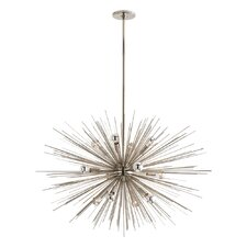 Zanadoo Gold 12-Light Sputnik Chandelier