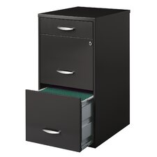 Alayna Office Designs 3-Drawer Vertical File Cabinet