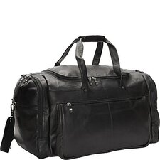 "20"" Leather Travel Duffel"