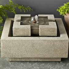 Garden Terrace Concrete Fountain