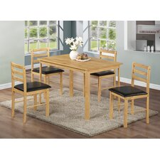 Nice Dining Set with 4 Chairs