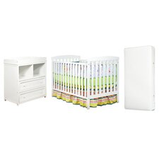 Berenice Crib and Changer Combo with 96 Coil Mattress