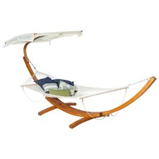 La Plaz Canvas Hammock with Stand