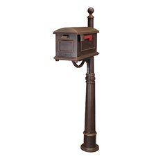 Town Square Mailbox with Post Included