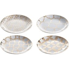 """Luxe Moderne 7.25"""" Appetizer Plate (Set of 4)"""