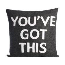 Zen Master You've Got This Throw Pillow