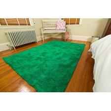 Super Soft Green Area Rug