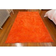 Super Soft Orange Area Rug