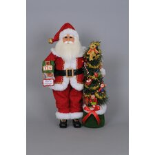 Christmas Lighted Days Til Santa Figurine