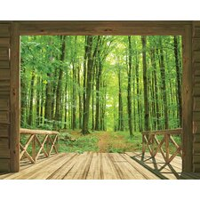 View Woodland Forest 2.44m x 3.05m Wall Mural