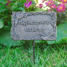 Garden Signs Plaques Youll Love Wayfair