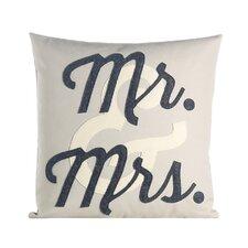 Flirt Mr and Mrs Throw Pillow